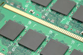Closeup of micro chips — Stock Photo