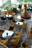 Interior of hotel restaurant — Stock Photo