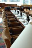 Impostazione tavolo ristorante — Foto Stock