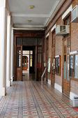 School hallway — Foto Stock