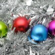 colorful christmas balls — Stock Photo #9476092