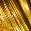 Golden fabric background — Stock Photo