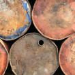 Royalty-Free Stock Photo: Rusty drums background
