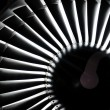 Jet engine background — Stock Photo