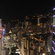 Hong Kong night scene — Foto Stock