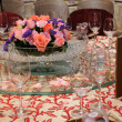 Chinese wedding table set — Stock Photo #9476891