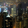 Night scene fo Hong Kong — Stock Photo