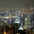 Night scene fo Hong Kong — Foto Stock