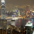 Night scene fo Hong Kong — Stock Photo #9477626