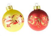 Bolas de Natal — Fotografia Stock