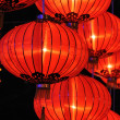 Chinese red lanterns — Stock Photo #9620182