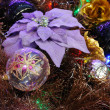 Christmas ornaments on tree — Stock Photo #9620203