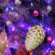 Christmas ornaments on tree — Stock Photo #9620213
