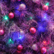 Christmas ornaments on tree — Stock Photo #9620223