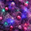 Christmas ornaments on tree — Stock Photo #9620223