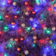 Christmas ornaments on tree — Stock fotografie