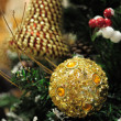 Stock Photo: Close up of christmas ornaments