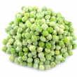Stock Photo: Frozen green peas