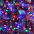 Stock Photo: Christmas ornaments on tree