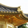 Golden pavilion in chinese garden — Stock Photo #9621425