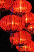 Chinese red lanterns — Stock Photo