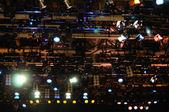 Osvětlení jeviště — Stock fotografie