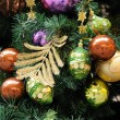 Christmas ornaments on tree — Stock Photo #9712397