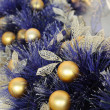 Christmas ornaments on tree — Stock Photo #9712669