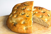 Homemade Foccacia Bread — Stock Photo