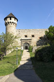 Medieval bastion in Royal Palace of Buda, Budapest, — Stock Photo