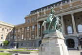 Royal palace in budapest — Stock Photo
