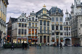 Ornate buildings of Grand Place, Brussels — Stock Photo