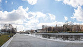 Panorama of center of yekaterinburg — Stock Photo