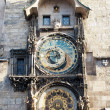 Astronomical clock in Prague — Stock Photo #9373827