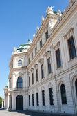 Viyana belvedere kalesi — Stok fotoğraf