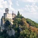 San Marino tower — Stock Photo