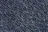 Struttura del tessuto denim blue jeans (diagonale) — Foto Stock