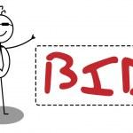 Businessman Banner — Stock Vector