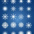 Snowflakes set — Stock Vector #9738171