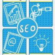SEO Concept - Stock Vector