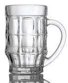 Empty beer glass — Стоковое фото
