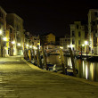 Stock Photo: Venice In The Night