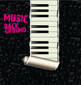 Jazz Music background — Stock Vector