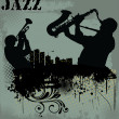 Stock Vector: Jazz music background