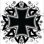 tatuaż Krzyż — Wektor stockowy  #10611603
