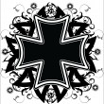 tatuaż Krzyż — Wektor stockowy