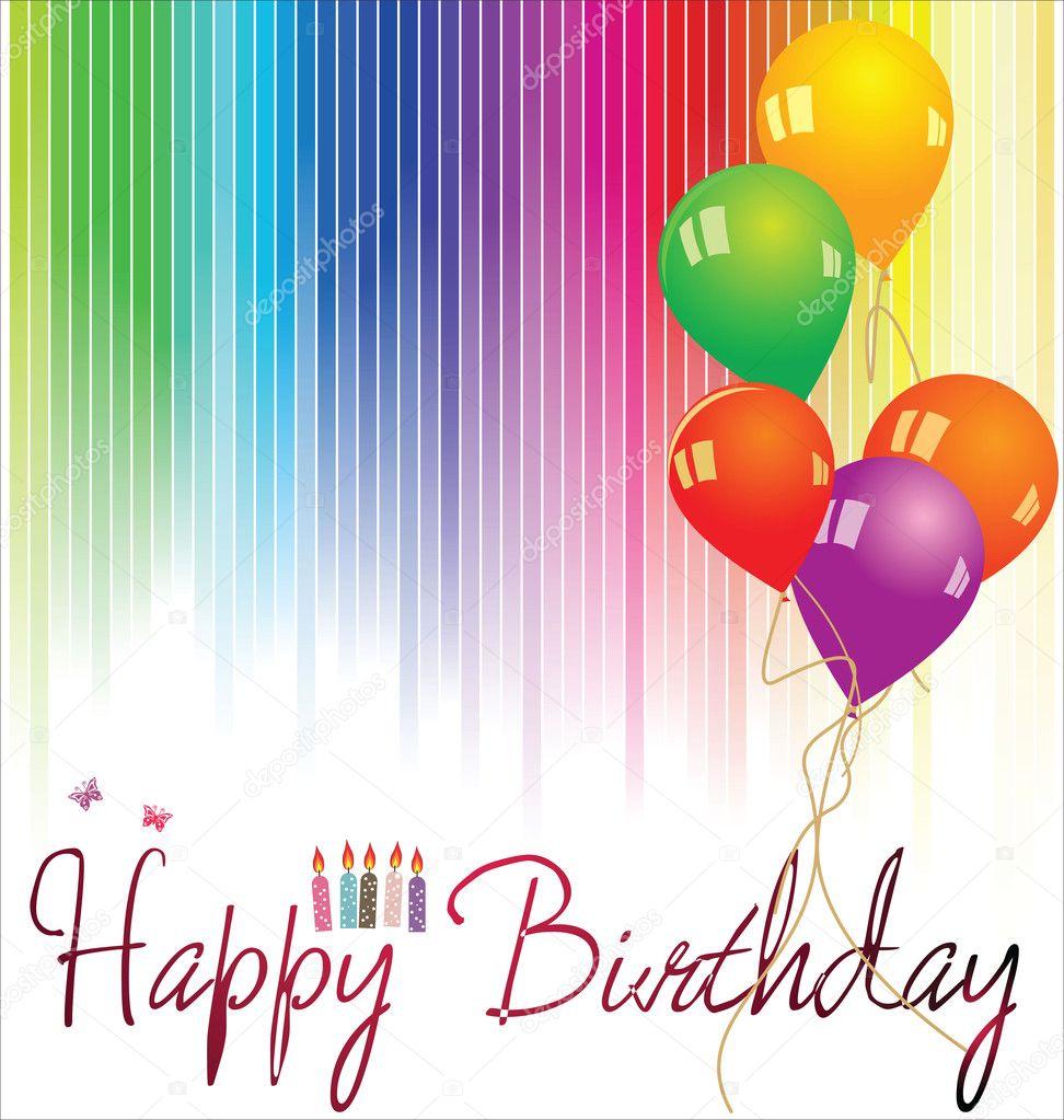 Happy birthday background — Stock Vector © creative-4m #10619246