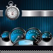 Racing background - Stock Vector