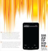 Business Broschüre Smartphone-Broschüre-template — Stockvektor