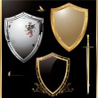 Vector de stock : Vector shield design